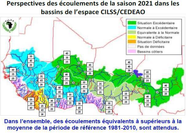 Sahel : Une saison pluvieuse globalement humide s'annonce avec des risques d'inondations